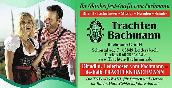 Trachten Bachmann